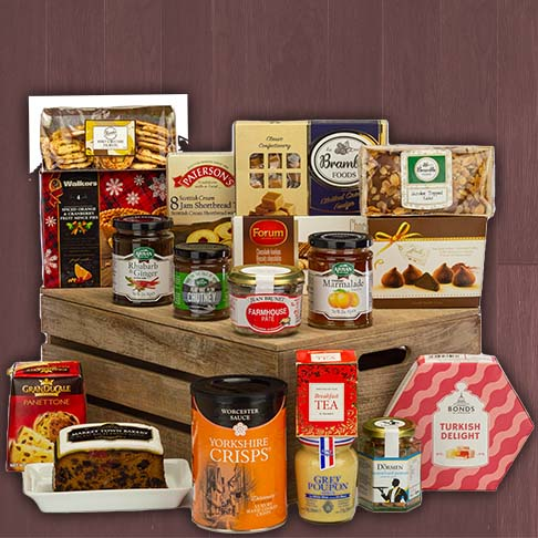 Hampers delivered between £50 and £100
