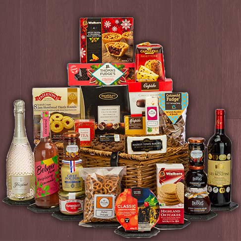 Hampers delivered over £100
