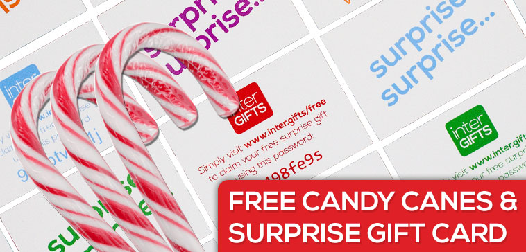 FREE Candy Canes and Surprise Gift