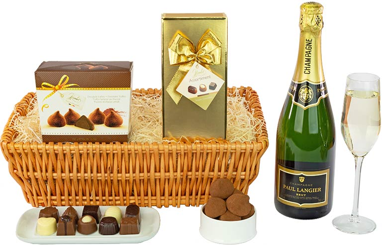 Champagne, Truffles and Chocolates