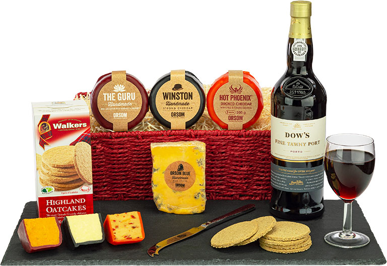 Dow's Tawny Port & Cheese Galore