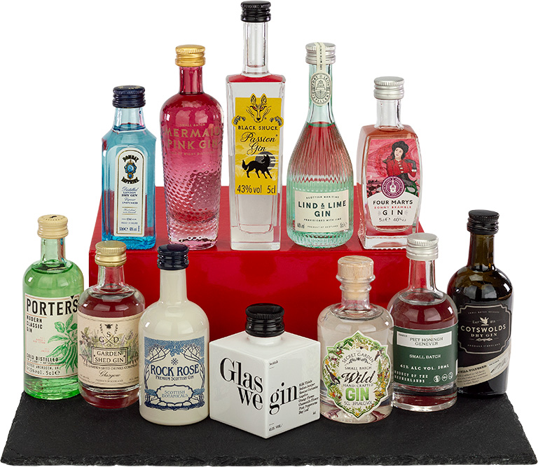 Miniature Gin Selection