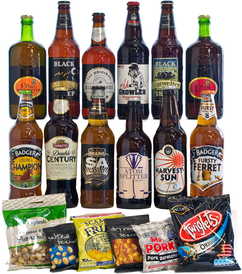 12 Best of British Ales with Bar Snacks