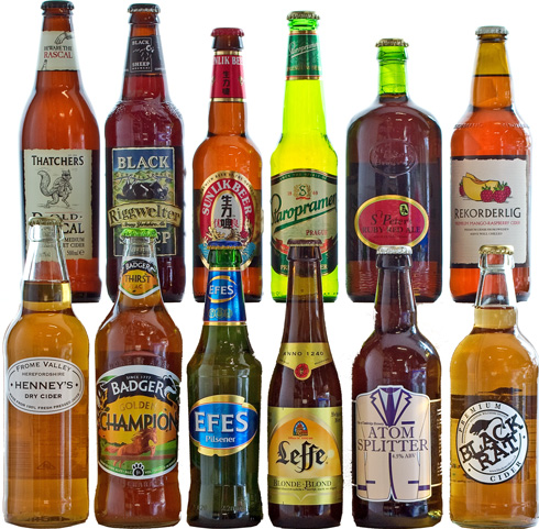 12 Mixed Lagers, Ales and Ciders