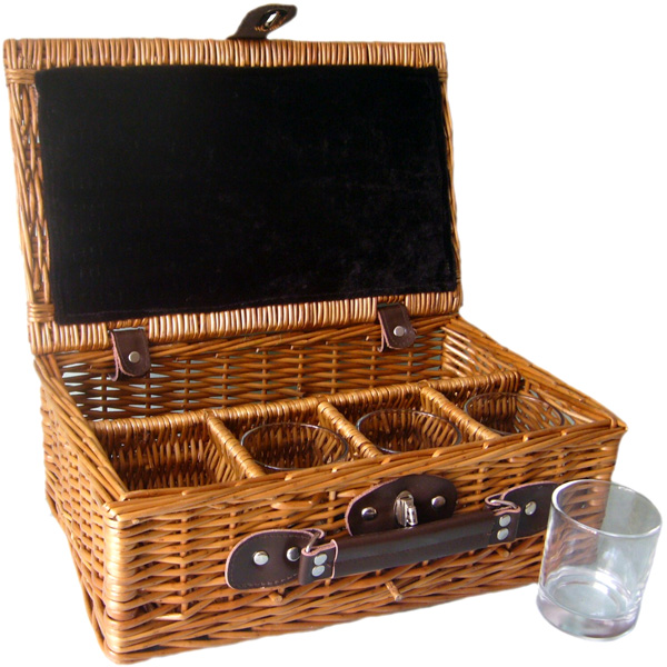 Whisky Tumbler Basket - Empty