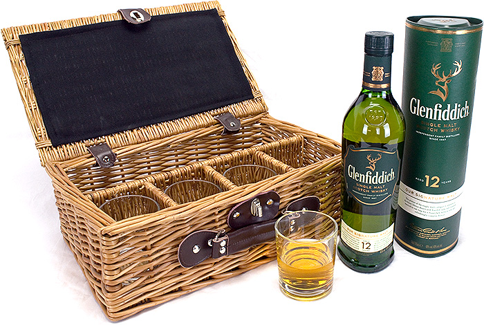 Glenfiddich Whisky Tumbler Basket