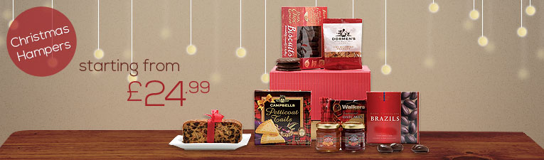 All our bestselling Christmas hampers